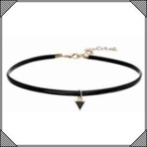 Jewelry - * Black Triangle Skinny Choker Necklace * Cute